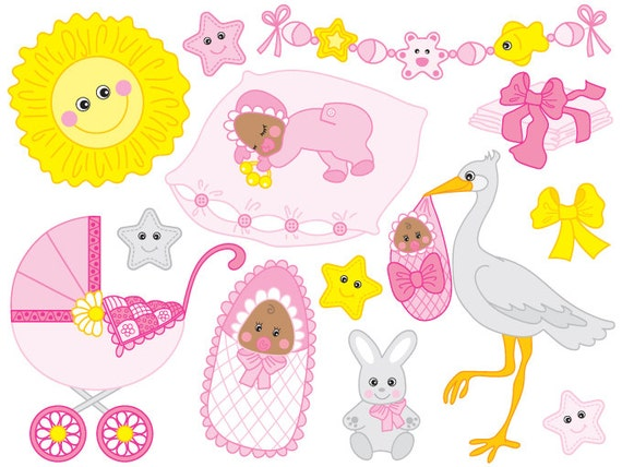african american baby girl clipart free - photo #21