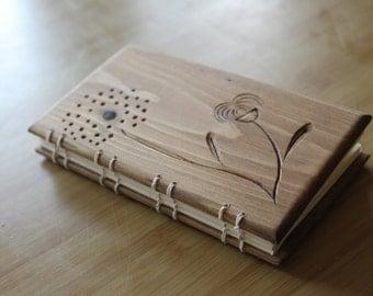 Wooden Handmade Notebook