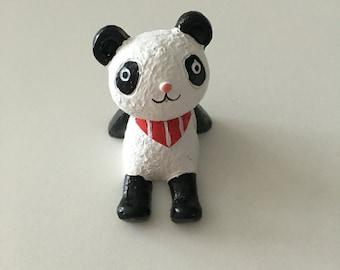 Cute Panda Decor for Terrarium, airplant, home decor