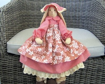 Rabbit Country Doll
