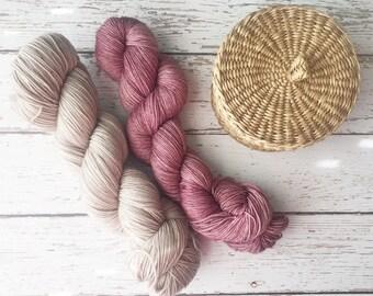 Dyed to Order -  Yarn Shawl Kit