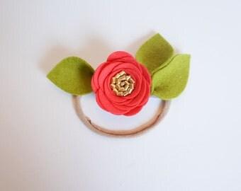 Lush Coral Rose