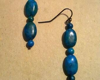 Dangle Earrings- Jasmine Color