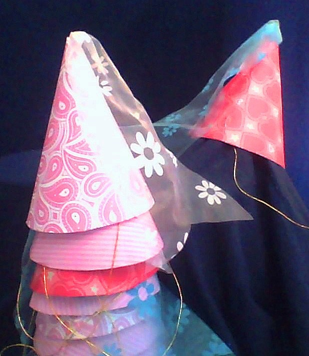 birthday pink hat medieval princess birthday hat party hat