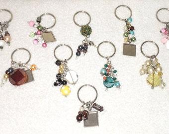 Beaded Keychains