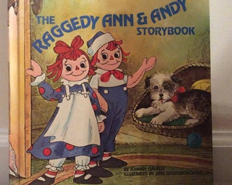 Book - Raggedy Ann and Andy Storybook