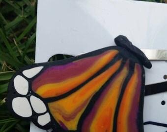 Monarch Butterfly Barrette