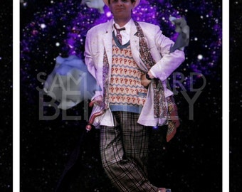 Doctor Who - Portraits of the Doctor - Seventh Doctor - Print