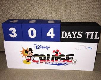 Disney Cruise Vacation Countdown