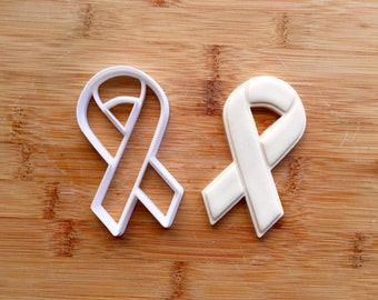 Cancer Awareness Ribbon Cookie Cutter **All Proceeds will be donated**