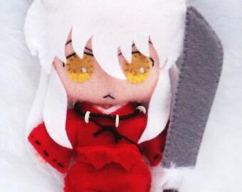 Inuyasha Anime Plush Chibi