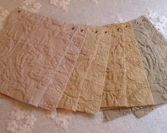 Lot of 8 Bella Notte Fabric Swatches
