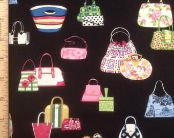 Alexander Henry fabrics    Bag Lady