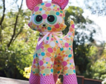 """Melly and Me  """"KIKI"""" the Cat  Stuffed Animal Pattern"""