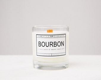sensōrius co. BOURBON soy candle