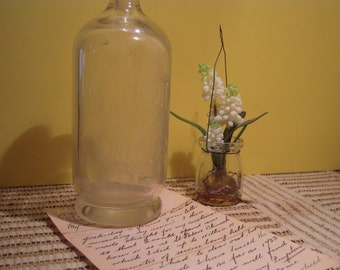 Bottle: Vintage seltzer bottle