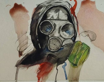 Apocalyptic Watercolour