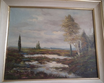H Wehler - Original Oil on Canvas - Signed by The Artist