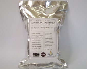 Agarwood Green Tea Has Naturally High Polyphenol Contents as Antioxidants to Boost Body Metabolisms (Free Shipping)