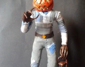 Jack Lantern ooak doll