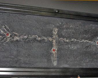 ATM crucifix