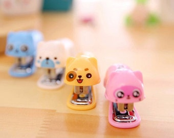 Mini office stapler, Kids Stapler, Stationery, Stapler Set