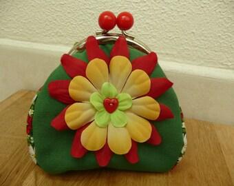 floral wallet color was