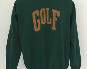 Vintage Golf Crewneck Sweatshirt XL