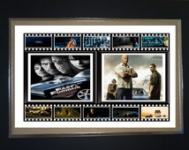 FAST & FURIOUS movie classic mounted display
