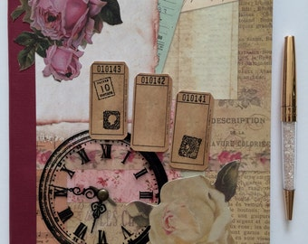 Vintage Rose Journal