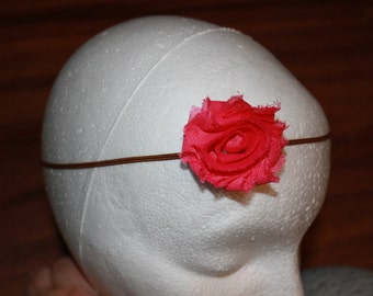 Pink Shabby Flower