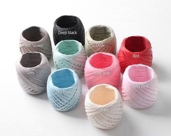 20 YRD color paper raffia, gift packaging, raffia ribbon, dye raffia, paper raffia, raffia string, craft supplies, packaging supplies