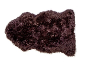Luxuria Chocolate Brown Sheepskin Rug - Luxury, Cosy, Warm
