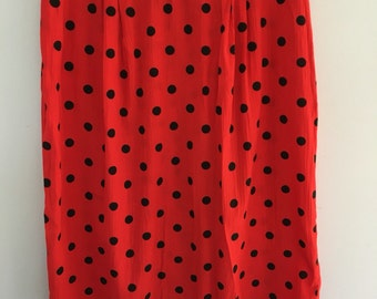 Table 8 polka dot skirt
