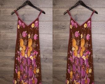 bohemian silk dress #1