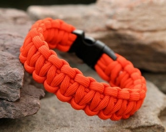 Solid Paracord Dog Collar