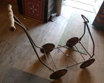 1920's Mahr Bufton Baby Buggy Frame