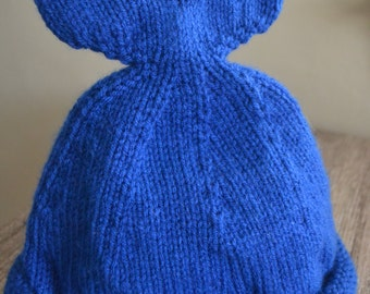 Whale of a Tail Childs Hat Royal Blue