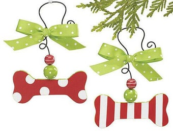 Personalized hand painted wooden ornaments for pets and people!