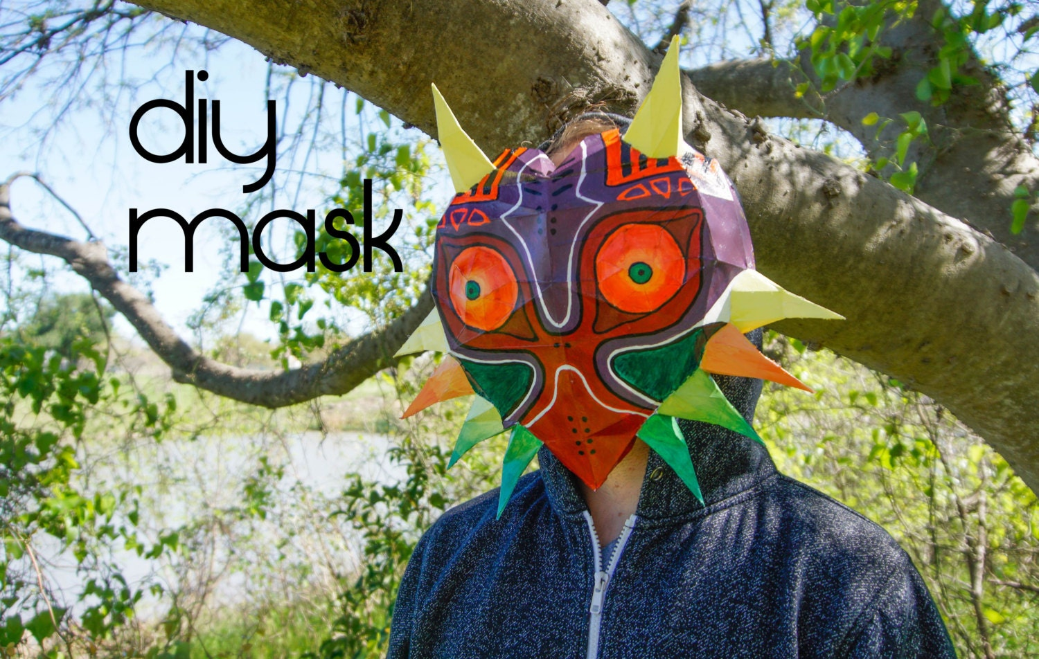 Majora's Mask Make your own with a PDF Download