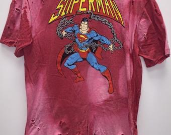 Handmade 'Superman' tee