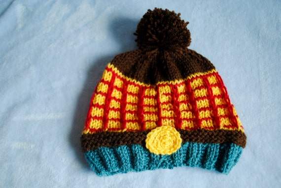 Items similar to Woody/Toy Story Inspired Hand Knit Hat on ...