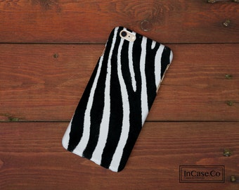 Zebra Phone Case. White. For iPhone Case, Samsung Case, LG Case, Nokia Case, Blackberry Case and More!