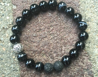 Healing beaded bracelet
