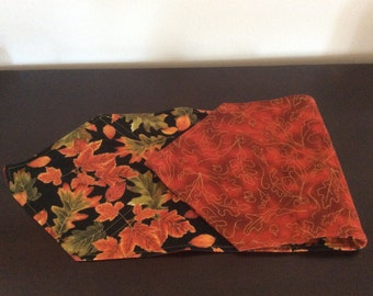 Quilted, Lined, Reversible Table Runner