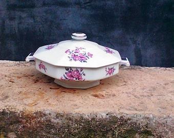 Limoges porcelain tureen