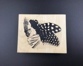 A Lost Art Rubber Stamp