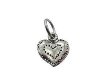 Heart Charm (Fine Pewter)