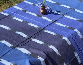 Vintage Marimekko fabric Blue White Fujiwo Ishomoto Design  KUUTTI 1983 Cotton Fabric Finnish Design Scandinavian Textile