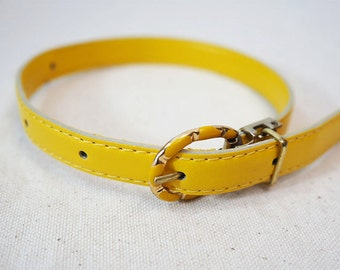 Yellow Recycled Bracelet/Cuff for your Scarf